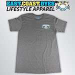 East Coast Dyes Stamped Tee (Grey)